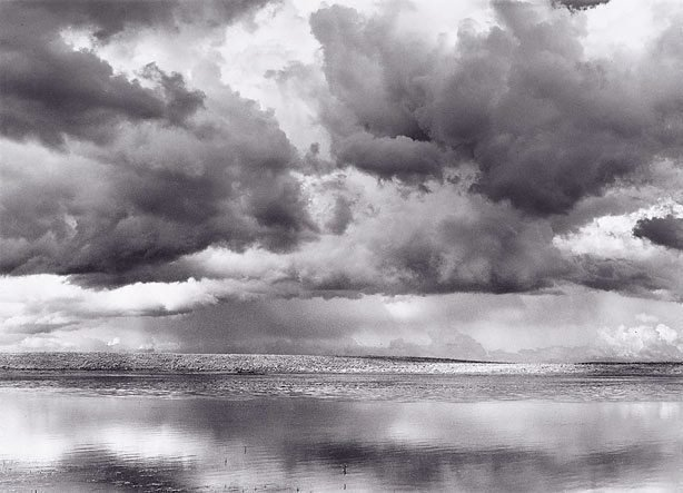 An image of Monaro clouds and reflections, NSW