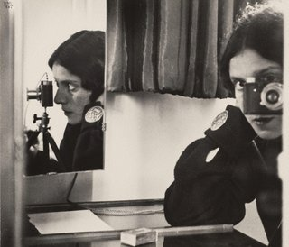 AGNSW collection Ilse Bing Self portrait with Leica (1931, printed 1941) 16.2005