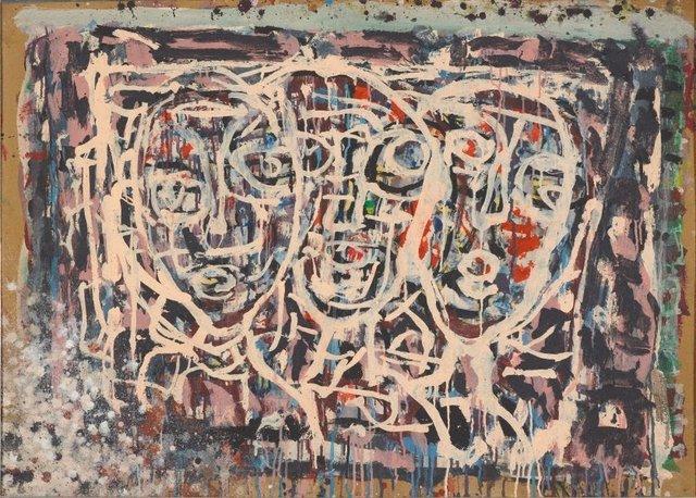An image of Three heads