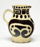 Alternate image of Water jug with geometric designs by Anne Dangar