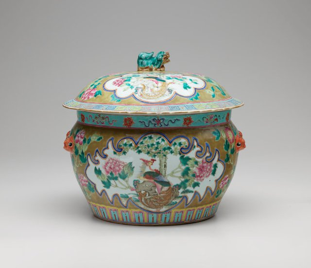An image of Covered jar (kamcheng)