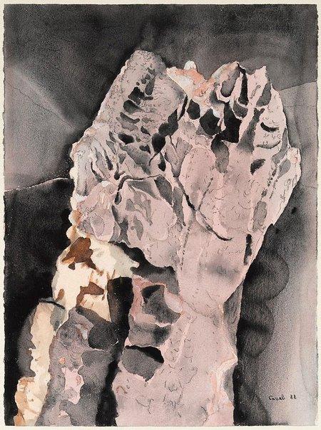 An image of Desert torso by Judy Cassab