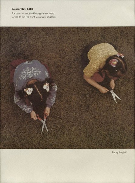 An image of Scissor cut 1980 by Tracey Moffatt