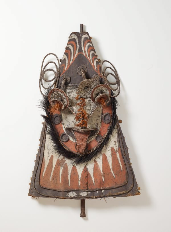An image of Gable mask from ceremonial house facade
