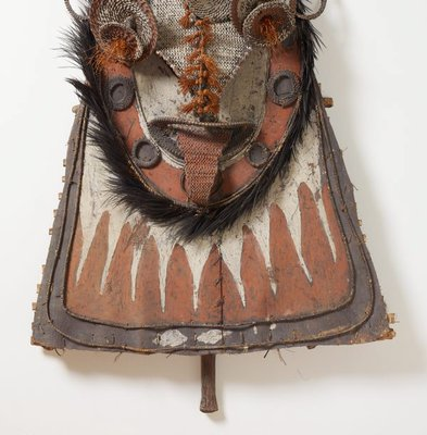 Alternate image of Gable mask from ceremonial house facade by Sawos people