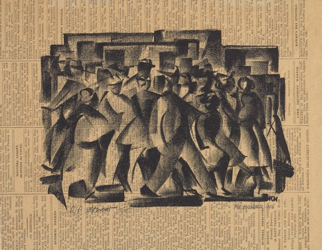 An image of City people