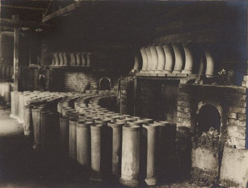 An image of Interior, pipe works by Frederick A Joyner