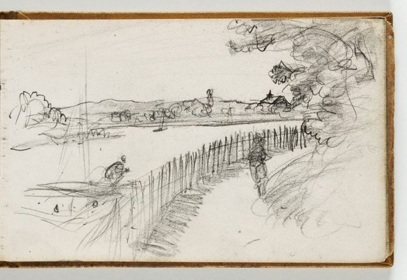 Alternate image of Sketchbook no. 2: Singapore, France, Italy, United Kingdom 1953 by Lloyd Rees
