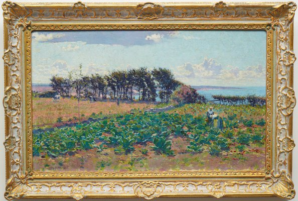 Alternate image of Landscape, between the Counties of Morbihan and Finistère by E Phillips Fox