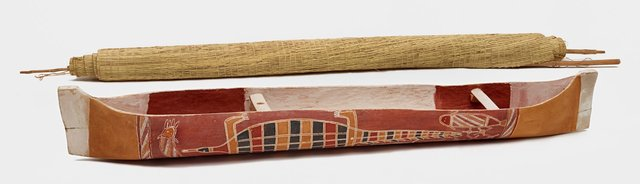 An image of Ceremonial dugout canoe