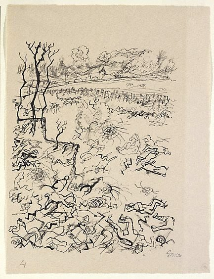 An image of Battlefield by George Grosz