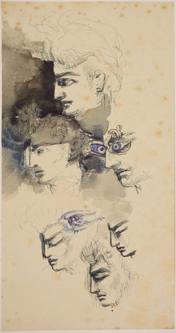 An image of (Head studies)