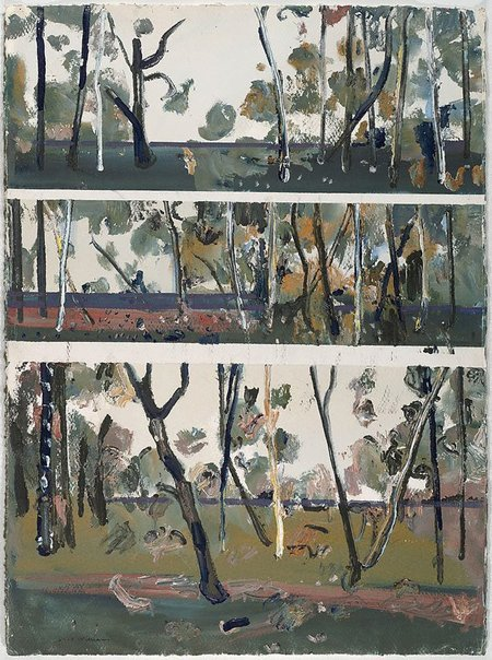An image of Saplings, Wedderburn by Fred Williams