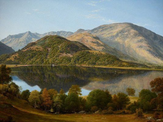 Alternate image of Ullswater, early morning by John Glover
