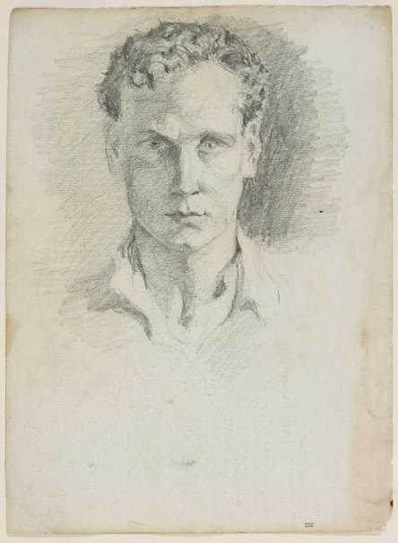 An image of Self portrait by Lloyd Rees