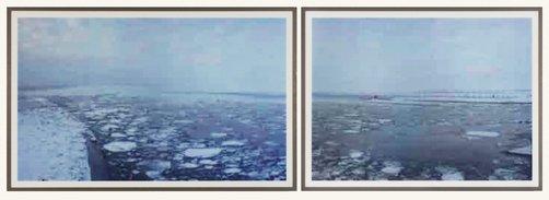 An image of Ice Floe – jpeg ir01, jpeg ir02 by Thomas Ruff