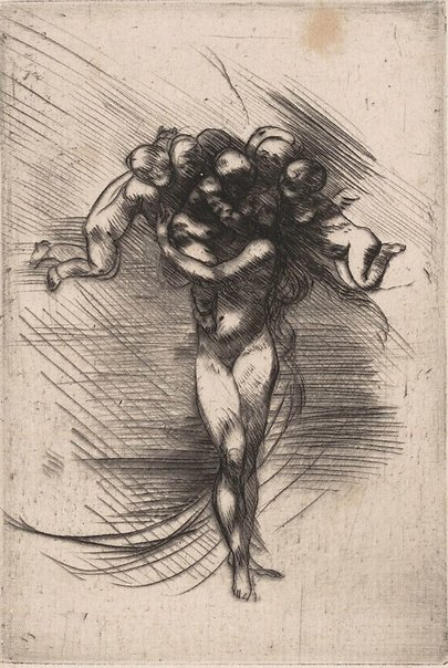 An image of Springtime by Auguste Rodin