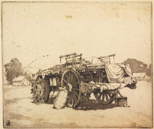 An image of The overflow waggon by E Warner