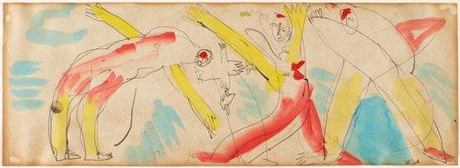 An image of Acrobats by Joe Furlonger