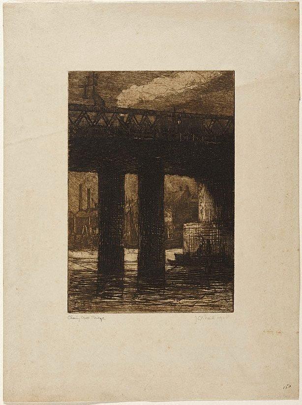 An image of Charing Cross Bridge