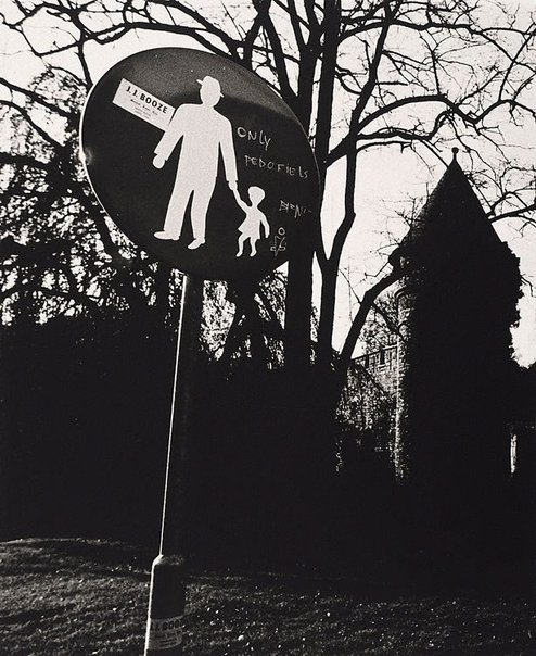 An image of Street sign, Europe by Lewis Morley
