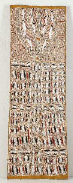 An image of Njerrk, Gurtha, Dhuwirr by Charlie Matjuwi Burarrwanga