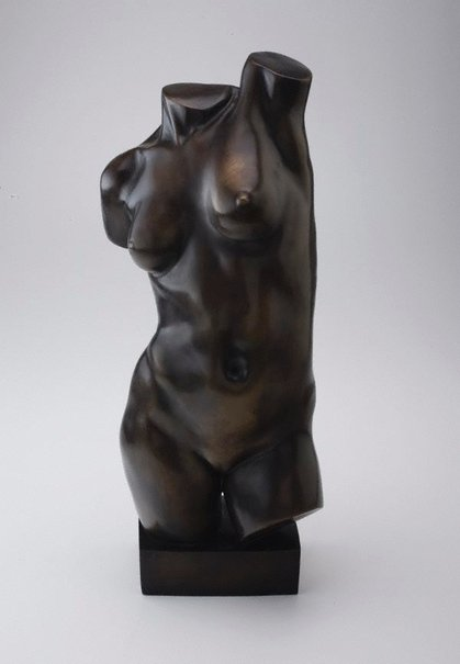 An image of Self-torso by Marjorie Fletcher