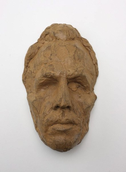 An image of Mask of Cliff Brown by Robert Klippel