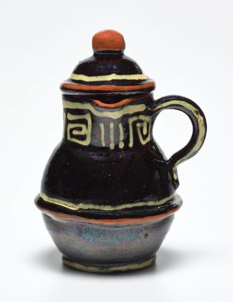 An image of Hot-water jug by Anne Dangar