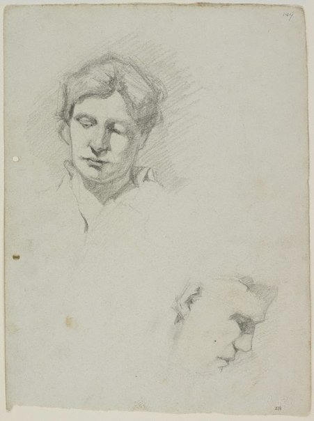 An image of Amy and Merlin by Lloyd Rees