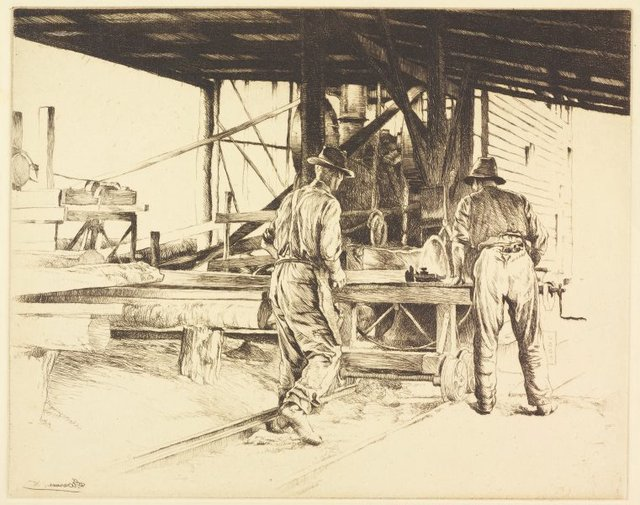 An image of Timber workers, New South Wales