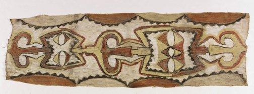 An image of Funerary tapa by Nakanai people