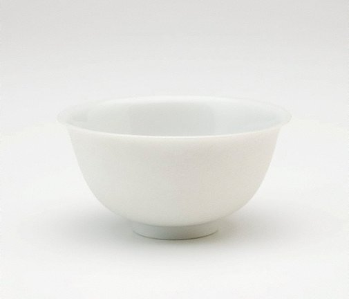An image of Tea bowl with carved dragons by Jingdezhen ware