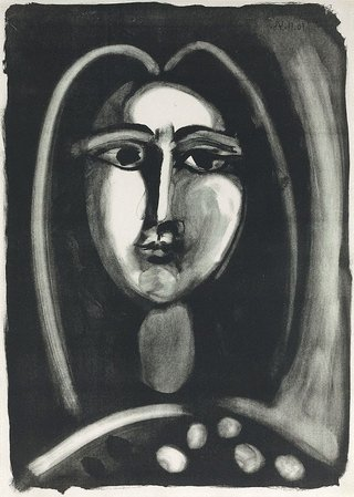 AGNSW collection Pablo Picasso Head of a woman (1948) 171.2006