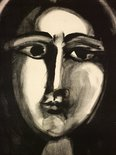 Alternate image of Head of a woman by Pablo Picasso