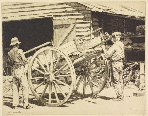 An image of Coachbuilders, Queensland by E Warner