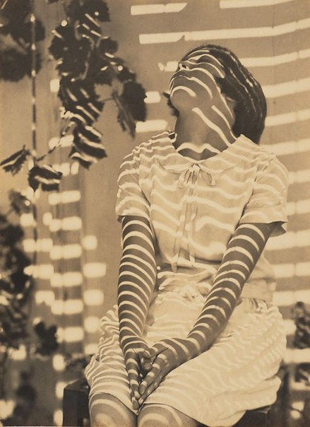 An image of Pergola pattern by Harold Cazneaux