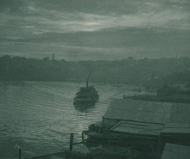 An image of Ferryboat, early morning
