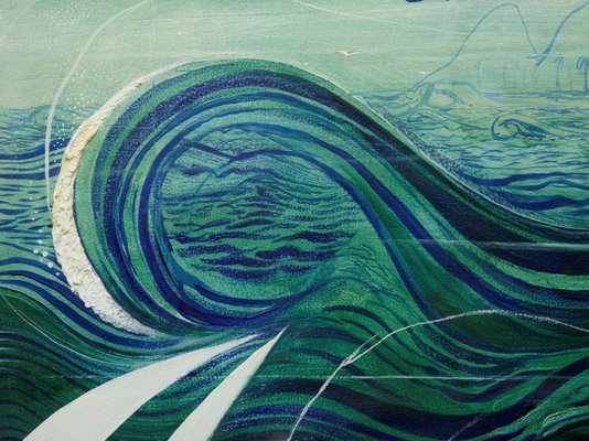 Alternate image of Stanner's dream by Brett Whiteley