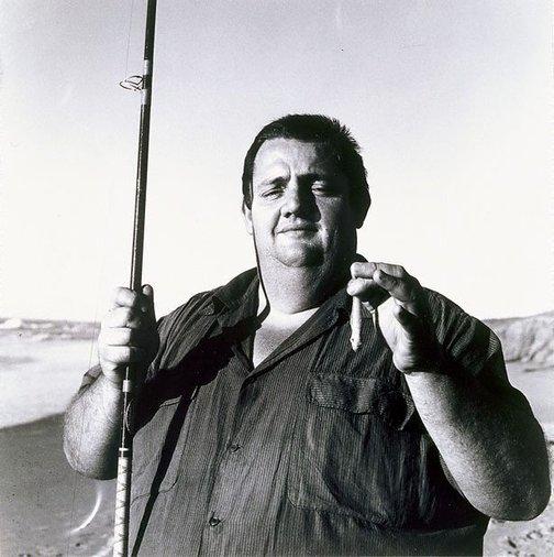 An image of 'Bob's catch' Shoalhaven Heads by Mervyn Bishop