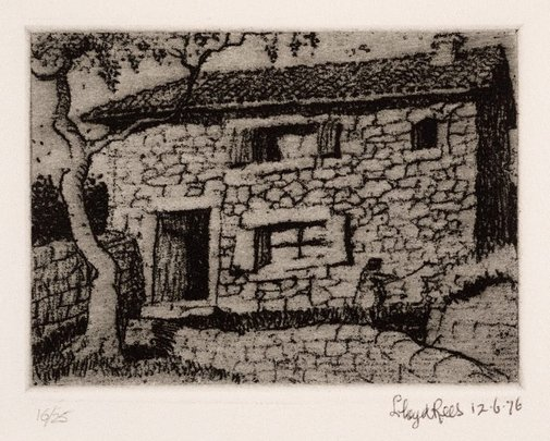 An image of Majorca by Lloyd Rees