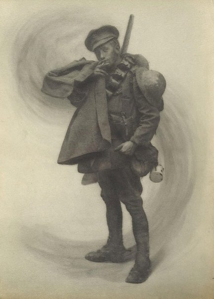 An image of Tommy from the Trenches by Francis J Mortimer