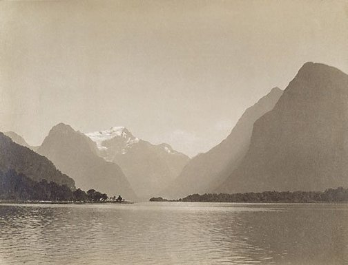 An image of Mount Pembroke, Milford Sound by Norman C Deck
