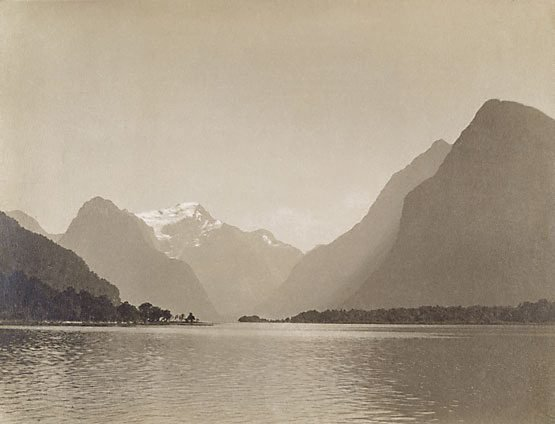 An image of Mount Pembroke, Milford Sound