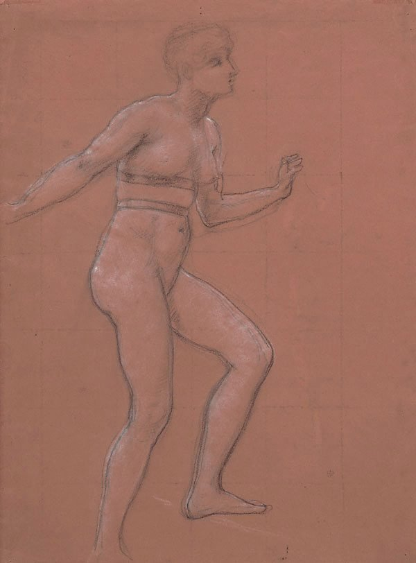 An image of Study for the Queen of Sheba
