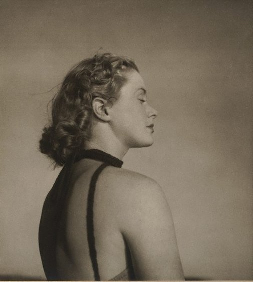 An image of 'Only to taste the warmth, the light, the wind' by Olive Cotton