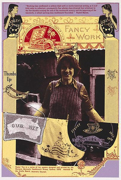 An image of Working class needlework by Women's Domestic Needlework Group, Sydney, Marie McMahon, Frances Phoenix