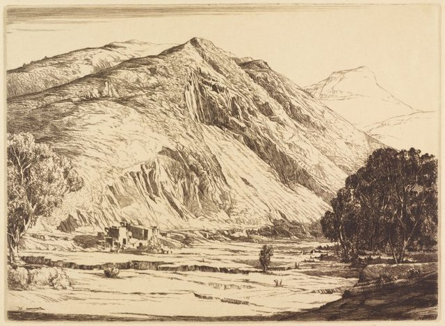 An image of The bare hills, Queenstown, Tasmania