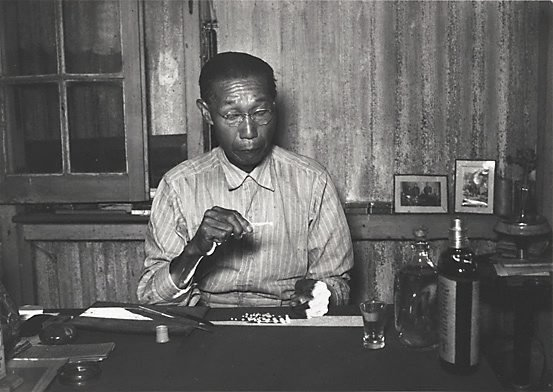 An image of Sam Sue, well known pearl buyer, Broome, Western Australia
