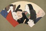 An image of Momoyo-gusa: San by Kamisaka Sekka